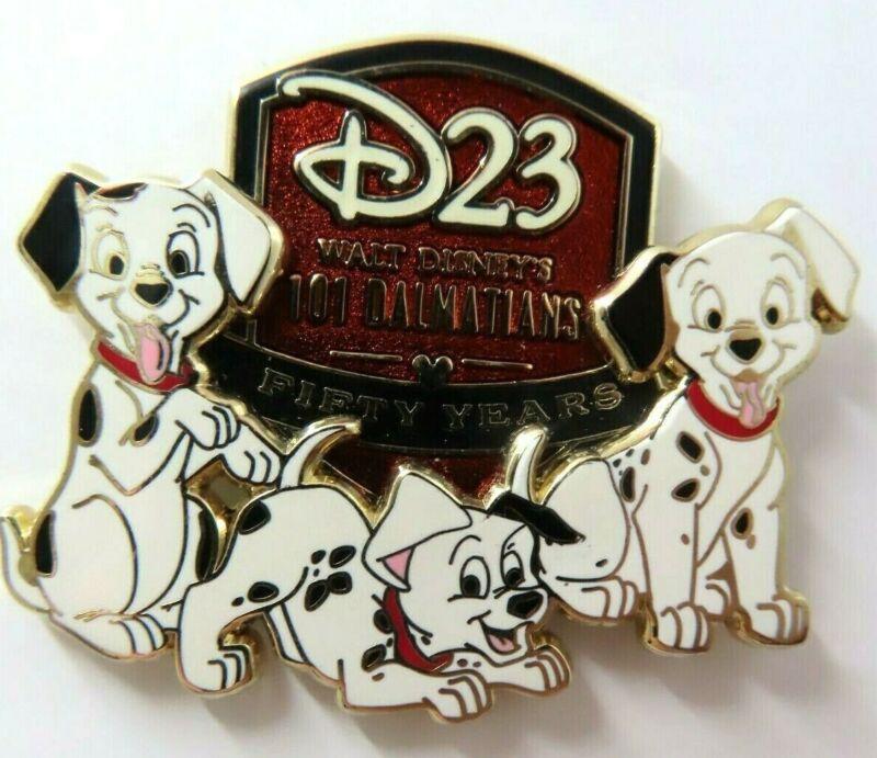 Disney Pin D23 2011 Expo Anniversary 101 Dalmatians LE 750 #85131