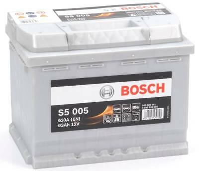 S5 005 Bosch Car Battery 12V 63Ah Type 027 S5005