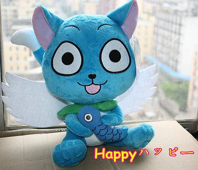 Soft Cute Fairy Tail Happy Cat ハッピー 10