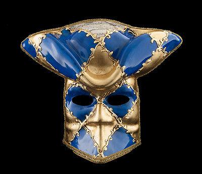 Mask Casanova from Venice Bauta Blue Carnival Prom Venetian VG14 1472
