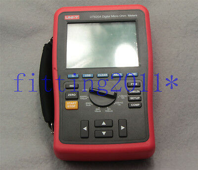 New Uni-t Ut620a Digital Micro Ohm Meters Ohms - Multimeter