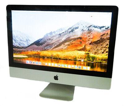 """Apple iMac A1311 Mid-2010 21.5"""" Core i3-540 16GB RAM 120GB SSD H Sierra Grade B"""