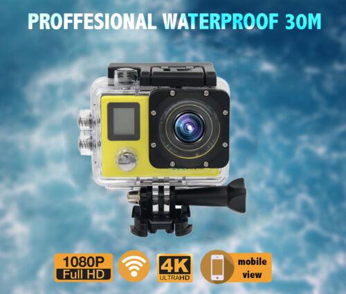 как выглядит 4K/30FTP Full HD WiFi Sports Action Camera Helmet Go Pro Cam DVR Waterproof Lot фото