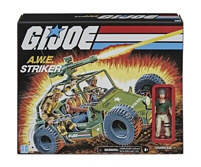 "⭐️PRE-ORDER⭐️G.I. Joe Retro Collection AWE Striker Vehicle with 3.75"" Crankcase"