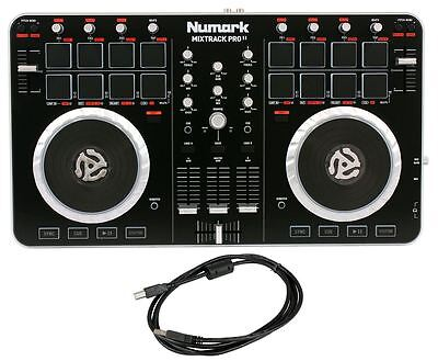 NEW Numark MixTrack Pro II 2 MIDI USB DJ Controller  Audio Interface
