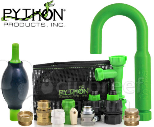 Python Aquarium No Spill Gravel Vac Replacement Male/Female Parts & Adapters
