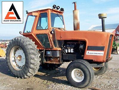 Allis Chalmers Ac 7060 7080 Tractor Shop Service Maintenance Repair Manual Cd