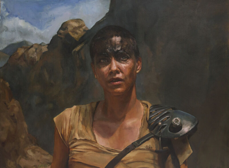 Mad Max Imperator Furiosa 11x17 print Fury Road