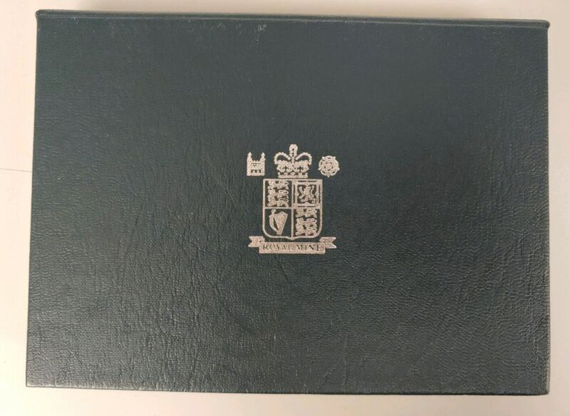 1998 Royal Mint Blue Box United Kingdom Proof Coin Collection 10 Coin Set w COA