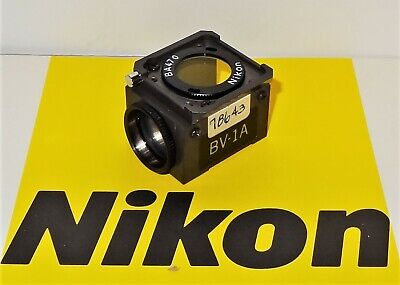 Nikon Bv-1a Fluorescent Microscope Filter Cube For Labophot Optiphot Microphot