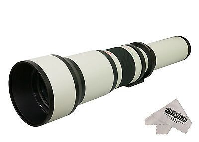 Opteka 650-1300mm HD Telephoto Zoom Lens for Canon EF EOS Di