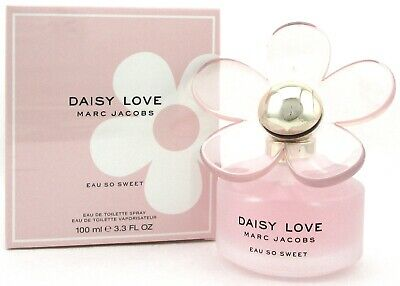 Marc Jacobs Daisy Love Eau So Sweet 3.3 oz. EDT Spray for Women. New in Box.