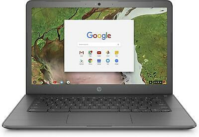 "HP Chromebook 14 G5, Intel Celeron N3350, 4GB, 32GB eMMC, Chrome OS, 14"" Laptop"