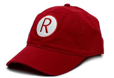 A League of Their Own Rockford Peaches R Baseball Cap Hat Red New
