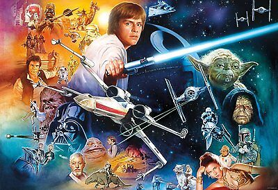 Buffalo Games The Force Is Strong with this One Star Wars Puzzle 2000 Piece