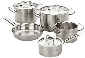fissler pro collection 5 piece cookware set profi professional range. Black Bedroom Furniture Sets. Home Design Ideas