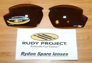 Authentic Rudy Project Rydon lenses NEW - Action Brown
