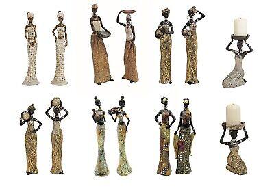 Dekofiguren afrikanische Frauen Figuren Afrika Afrikanerinnen viele Motive
