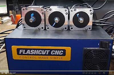 Flashcut Cnc 3 Axis Servo System Wpc And Servo Motors