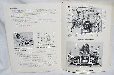 Original Magnecord 814 Ck Reel To Reel Continuous Tape Player Manual