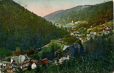 AK Wölfelsgrund / Miedzygorze ca. 1910 (?) Panorama / Habelschwerdt Glatz