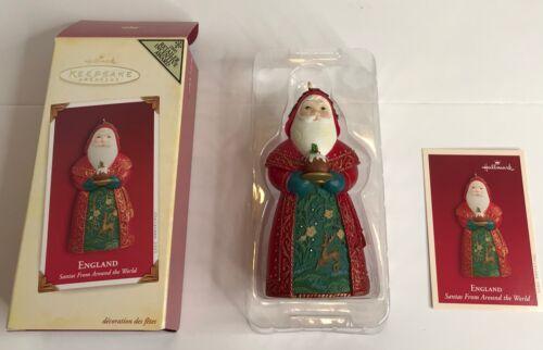 Hallmark Keepsake Ornament Santas from Around the World - Retail Award - England
