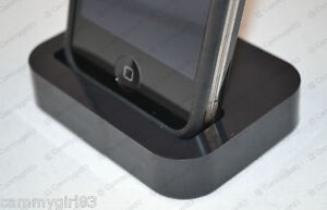 Black-Charger-Cradle-Charging-Station-Hot-Sync-Dock-Stand-Holder-for-iPhone-4-4S
