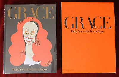 Grace ~ Thirty Years Of Fashion At Vogue Phaidon 2015 ~ Grace Coddington SIGNED