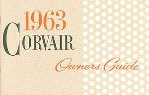 1963-CORVAIR-OWNERS-MANUAL