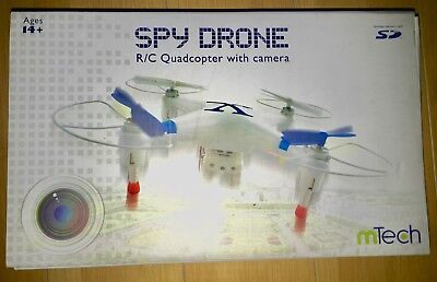 Spy Drone Quadcopter with Camera by MTECH