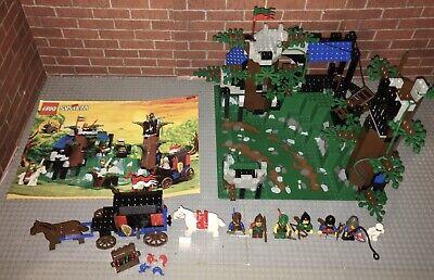 Lego 6079 Castle Dark Forest Fortress Set Manual Vintage Rare!