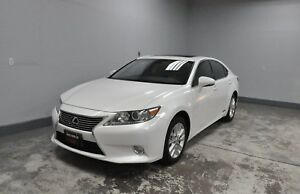 2014 Lexus ES 300h   WITH ''NAVI'' ONE OWNER'' HYBRID' LEATHER