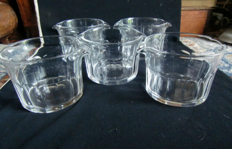 Five 19th Century Wine Rinser/Coolers - Cut and polished