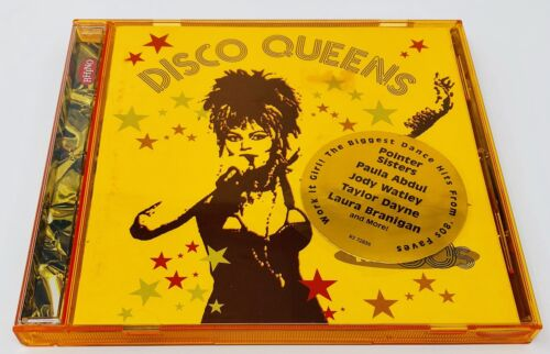 DISCO QUEENS 80 S - V/A - CD - MINT CONDITION Like New Rare Gift - $24.99