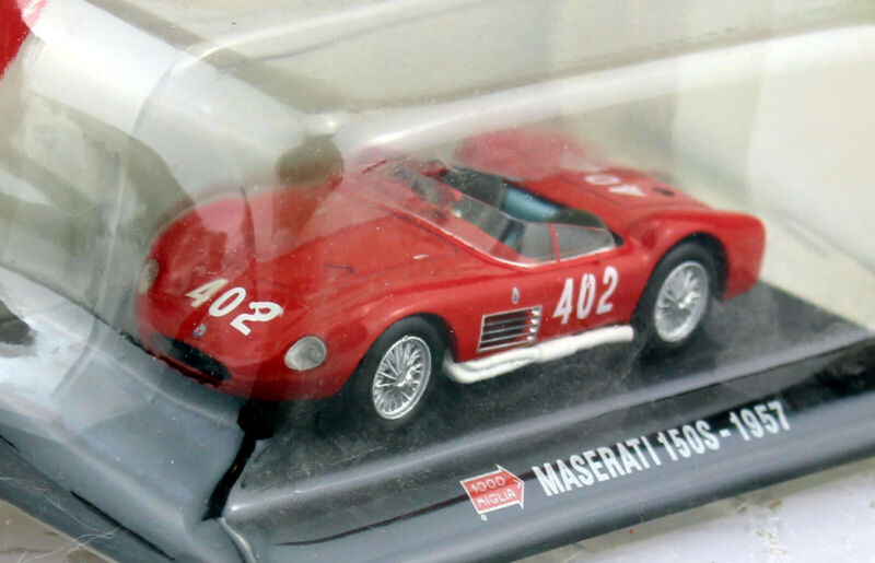 Maserati 150S Mille Miglia 1957 #402 1:43 Modellauto