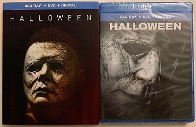 Halloween Movies Best (NEW HALLOWEEN 2018 BLU RAY DVD DIGITAL HD + BEST BUY EXCLUSIVE SLIPCOVER)