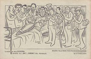 8294) BUDRIO BOLOGNA 1904 IL RISVEGLIO DELL'ACARINA FESTA RISVEGLIO BUDRIESE. - Bizzuno, Italia - L'oggetto può essere restituito - Bizzuno, Italia