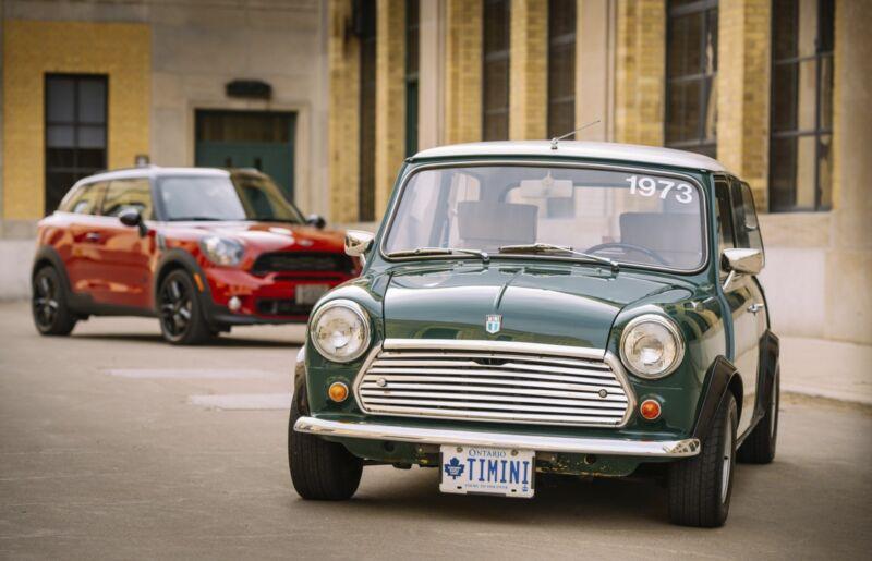 Der klassische Mini ist immer noch ein unschlagbares Kultauto