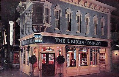 Disneyland The Upjohn Co Old Drug Store  Anaheim,CA Vtg 1958 Chrome Postcard (Disneyland Store Anaheim)