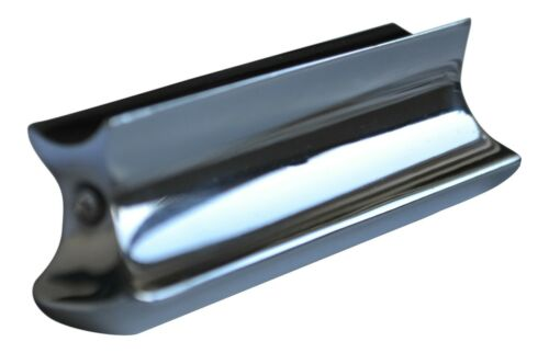 Chrome Hawaiian guitar lap steel slide bar tone bar dobro