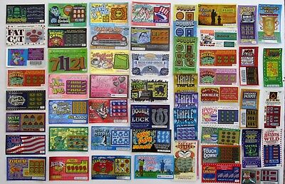 New Jersey    Instant Sv Lottery Tickets  400 Tickets    All Different