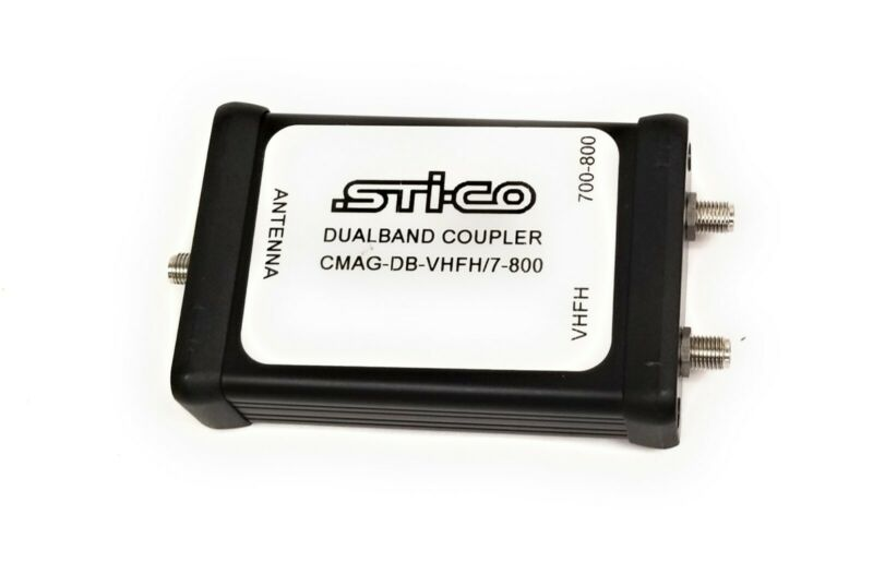 STi-CO Dualband Coupler for Antenna CMAG-DB-VHFH/7-800 SMA Connector