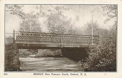 OXFORD NJ – Bridge Over Furnace (Over Collection Oxford)