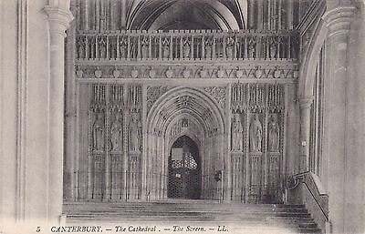 The Cathedral Screen, CANTERBURY, Kent LL
