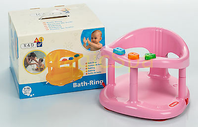 Infant Baby Bath Tub Ring Seat KETER Pink FAST SHIPPING FROM USA New in BOX