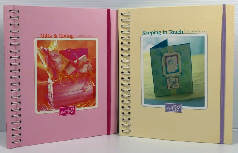 Stampin Up Portfolio Series Set 2002 Keeping in Touch 2003 Gifts & Giving