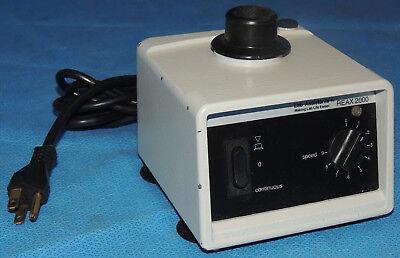 Heidolph Buchler Reax-2000 Vortexer Stirrer Shaker 115v 48w 443-5000 Warranty