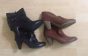 4 Pairs of Ladies Shoes-2 FREE- Heels and Flats