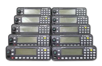 Motorola Mcs2000 Model 3 Control Heads Lot Of 10