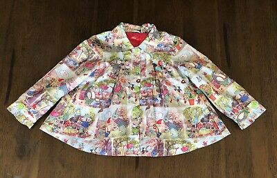 Oilily Girls Jacket Sz2